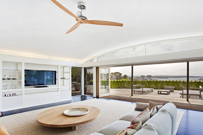 Woolahra living room with a view, by Sydney Beach Homes, custom builders