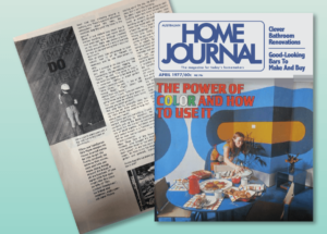 April 1977 issue of Home Journal featuring 8 year old John Oxley of Sydney Beach Homes