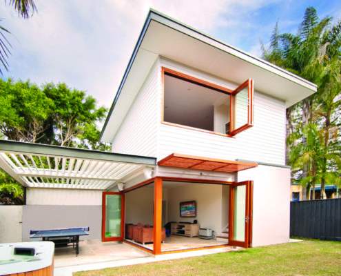 New garden studio in Freshwater by Sydney Beach homes